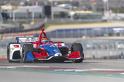 February 12, 2019 - Austin, Texas, U.S. - MATHEUS LEIST (4) of Brazil goes through the turns during practice for the IndyCar Spring Test at Circuit Of The Americas in Austin, Texas. (Credit Image: © Walter G Arce Sr Asp Inc/ASP)