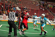 Phila Wings vs Rochester Knighthawks.Credit: Todd Bauders/ContrastPhotography.com