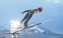 27.12.2014, Schattenbergschanze, Oberstdorf, GER, FIS Ski Sprung Weltcup, 63. Vierschanzentournee, Training, im Bild Karl Geiger (GER) // Karl Geiger of Germany// during practice Jump of 63 rd Four Hills Tournament of FIS Ski Jumping World Cup at the Schattenbergschanze, Oberstdorf, Germany on 2014/12/27. EXPA Pictures © 2014, PhotoCredit: EXPA/ Peter Rinderer