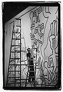 Keith Haring,Soho,New York City 1983