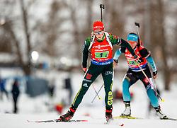 March 16, 2019 - –Stersund, Sweden - 190316 Franziska Hildebrand of Germany competes in the Women's 4x6 km Relay during the IBU World Championships Biathlon on March 16, 2019 in Östersund..Photo: Johan Axelsson / BILDBYRÃ…N / Cop 245 (Credit Image: © Johan Axelsson/Bildbyran via ZUMA Press)