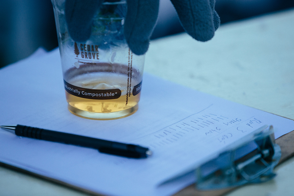 PBR and a judges clipboard as the 2015 Gelande Quaff Championships head into the final round.