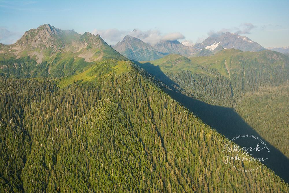 The spectacular mountain scenery of Baranof Island, Alexander Archipelago, Southeast Alaska, USA