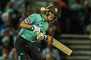 15 Aug 2018 - Surrey v Hampshire in the Vitality T20 Blast cricket match at the Kia Oval.