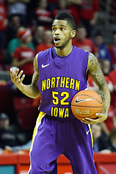 12 January 2011: Anthony James during an NCAA Missouri Valley Conference men's basketball game between the Northern Iowa Panthers and the Illinois State Redbirds at Redbird Arena in Normal Illinois.