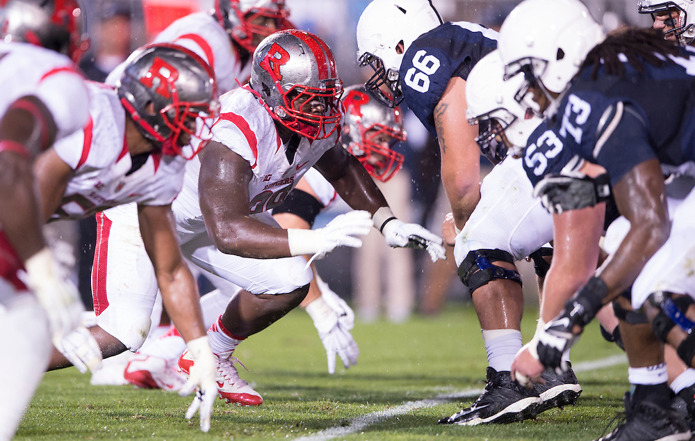 The Rutgers Scarlet Knights take on the Penn State Nittany Lions at Beaver Stadium in State College, PA on Saturday night, September 19, 2015.<br />