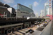 Tokyo International Forum and Yurakucho train station