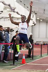 Boston University John Terrier Classic Indoor Track & Field: mens long jump, Morgan State,