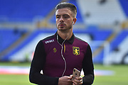 Aston Villa midfielder Jack Grealish (10) during the EFL Sky Bet Championship match between Birmingham City and Aston Villa at St Andrews, Birmingham, England on 10 March 2019.