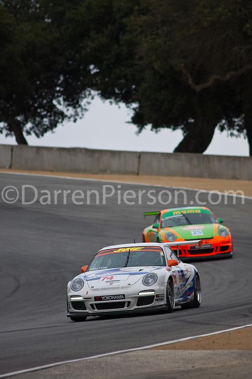 #74 Mercer Motorsports Porsche 911 GT3 Cup: Rich Walton