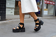 Black Platform Sandals, Outside JW Anderson SS2017