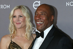 November 9, 2019, Culver City, CA, USA: LOS ANGELES - NOV 9:  Jennifer Lucas, Byron Allen at the 2019 Baby2Baby Gala Presented By Paul Mitchell at 3Labs on November 9, 2019 in Culver City, CA (Credit Image: © Kay Blake/ZUMA Wire)