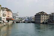 Switzerland, Zurich, Limmat River