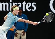 ALEXANDER ZVEREV (GER)<br /> <br /> Tennis - Australian Open 2018 - Grand Slam / ATP / WTA -  Melbourne  Park - Melbourne - Victoria - Australia  - 18 January 2018.