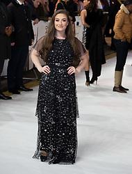 Amber Davies attends Charlie's Angels UK Premiere Red Carpet Arrivals in London, 20 November 2019.<br /><br />20 November 2019.<br /><br />Please byline: Vantagenews.com