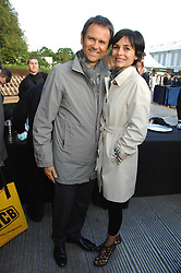 CHRISTOPHE CARPENTE and his wife RAPHAELE CANOT Creative Director of De Beers at a reception at the gold medal winning De Beers garden in aid of the KT Wong Charitable Trust at the 2nd day of the 2008 Chelsea Flower show on 20th May 2008.<br /><br />NON EXCLUSIVE - WORLD RIGHTS