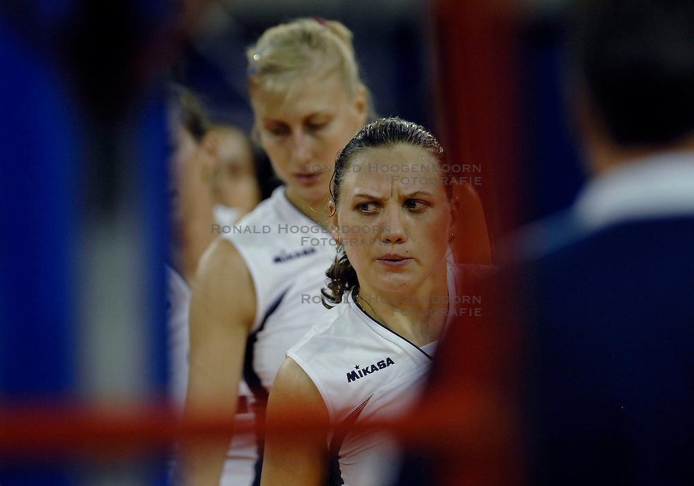 10-11-2007 VOLLEYBAL: PRE OKT: TSJECHIE - AZERBEIDZJAN: EINDHOVEN<br /> Tsjechie wint met 3-1 van Azerbeidzjan / Irina Siminyagina<br /> &copy;2007-WWW.FOTOHOOGENDOORN.NL