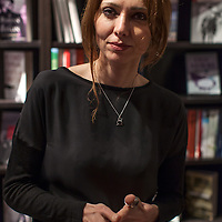 Elif Shafak, Istanbul Review at Looking Glass Books, Edinburgh.<br /> <br /> 25th March 2014<br /> <br /> Photograph by Chris Scott/Writer Pictures<br /> <br /> WORLD RIGHTS