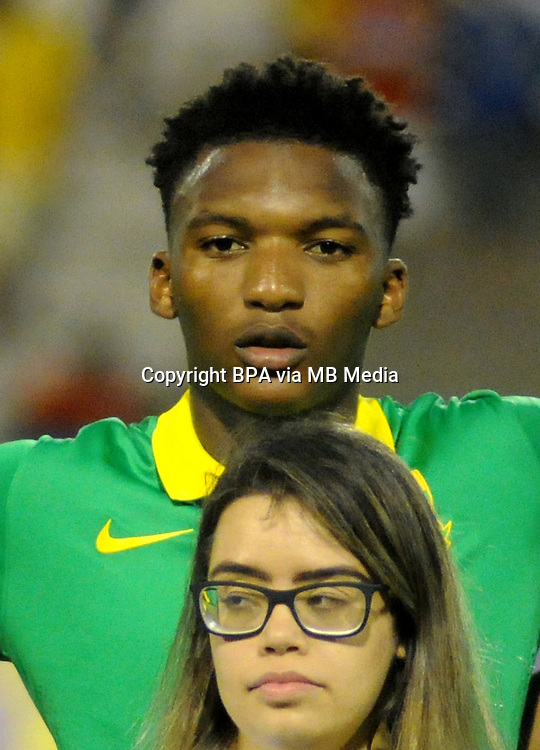 Fifa Men&acute;s Tournament - Olympic Games Rio 2016 - <br /> South Africa National Team - <br /> Kgosietsile Nthle
