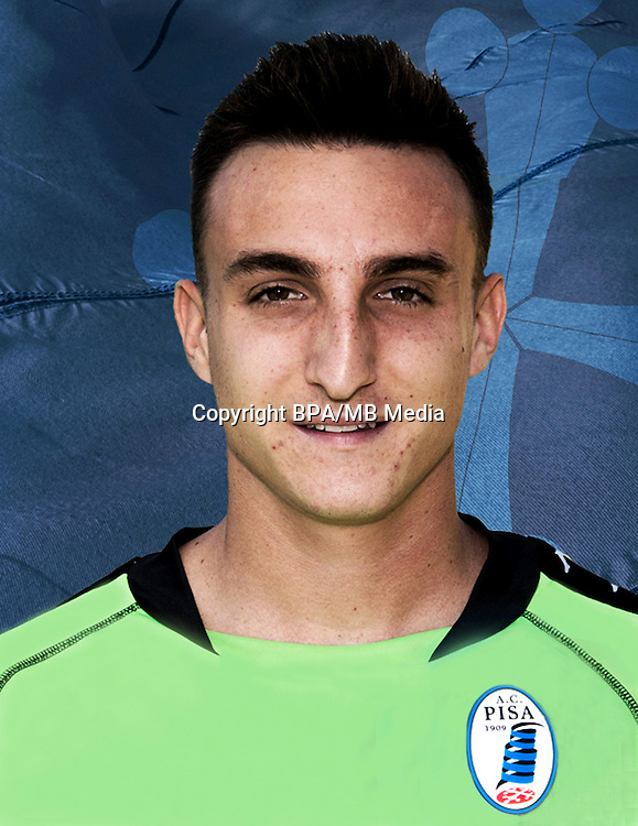Italian League Serie B -2016-2017 / <br /> ( A.C. Pisa 1909 ) - <br /> Daniele Cardelli