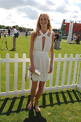 POPPY DELEVINGNE at the Cartier International polo at Guards Polo Club, Windsor Great Park on 29th July 2007.<br />