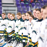 Women's Hockey Home Game on Sat Feb 02 at The Co-operators Arena. Credit: Arthur Ward/Arthur Images