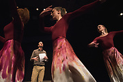 """""""Beautiful Weapons"""" dance performance brings biology lectures to life. (GU photo by Zack Berlat)"""
