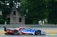 Ryan Briscoe (AUS) / Richard Westbrook (GBR) / Scott Dixon (NZL) #69 Ford Chip Ganassi Racing Team USA Ford GT,  during Le Mans 24 Hr June 2016 at Circuit de la Sarthe, Le Mans, Pays de la Loire, France. June 15 2016. World Copyright Peter Taylor/PSP. Copy of publication required for printed pictures.  Every used picture is fee-liable. http://archive.petertaylor-photographic.co.uk