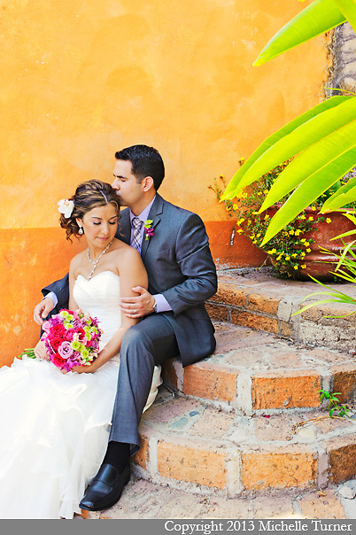 Chris and Monica's Dreams Puerto Vallarta Wedding.  Design by the Dazzling Details.  Images by Puerto Vallarta Wedding Photographer Michelle Turner.