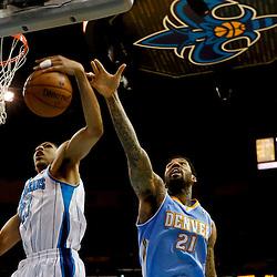 03-25-2013 Denver Nuggets at New Orleans Hornets