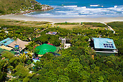 Aerial photo of Grajagan Resort, Ilha do Mel