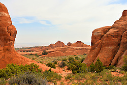 View, Arches National Park, Utah, USA