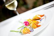 Belo Horizonte_MG, Brasil.<br /> <br /> Flores comestiveis no Restaurante Flores em Belo Horizonte, Minas Gerais. <br /> <br /> Edible flowers at Flores Restaurant in Belo Horizonte, Minas Gerais.<br /> <br /> Foto: NIDIN SANCHES / NITRO