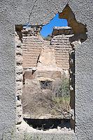 Abandoned ranch house, Pinto Canyon, Texas
