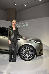Poppy Delevingne at the Range Rover Velar Global Reveal at The Design Museum, London England. 1 March 2017.