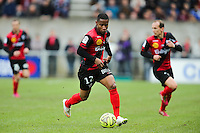 Claudio BEAUVUE  - 08.03.2015 - Guingamp / Lille - 28eme journee de Ligue 1 <br /> Photo : Vincent Michel / Icon Sport