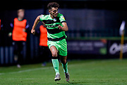 Forest Green Rovers defender Liam Shephard (2) in action  during the EFL Sky Bet League 2 match between Forest Green Rovers and Tranmere Rovers at the New Lawn, Forest Green, United Kingdom on 23 October 2018.