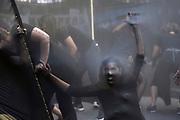 20190308/ Nicolas Celaya - adhocFOTOS/ URUGUAY/ MONTEVIDEO/ CENTRO/ Marcha en el marco del D&iacute;a Internacional de la Mujer, en Montevideo.<br /> En la foto: Marcha en el marco del D&iacute;a Internacional de la Mujer, en Montevideo. Foto: Nicol&aacute;s Celaya /adhocFOTOS