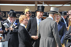 Lord Stanley at the 2012 Investec sponsored Derby at Epsom Racecourse, Epsom, Surrey on 2nd June 2012.