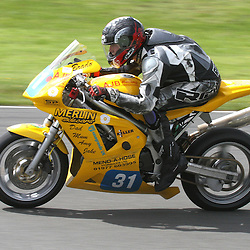 Brad Vickers in action at the the annual visit to Knockhill of the North East MCRC Championship round. STEPHEN LAWSON|STOCKPIX