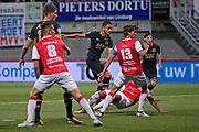 Pantelis Hatzidiakos of AZ Alkmaar scores 0-1