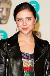 © Licensed to London News Pictures. 14/02/2016. London, UK. BEL POWLEY arrives on the red carpet for the EE British Academy Film Awards 2016 after party held at Grosvenor House . London, UK. Photo credit: Ray Tang/LNPPhoto credit: Ray Tang/LNP