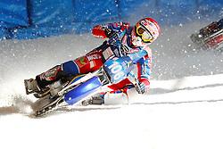 13.03.2016, Assen, BEL, FIM Eisspeedway Gladiators, Assen, im Bild Dimitry Koltakov (RUS) // during the Astana Expo FIM Ice Speedway Gladiators World Championship in Assen, Belgium on 2016/03/13. EXPA Pictures &copy; 2016, PhotoCredit: EXPA/ Eibner-Pressefoto/ Stiefel<br /> <br /> *****ATTENTION - OUT of GER*****
