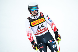 17.02.2019, Aare, SWE, FIS Weltmeisterschaften Ski Alpin, Slalom, Herren, 2. Lauf, im Bild Filip Zubcic (CRO) // Filip Zubcic of Croatia reacts after his 2nd run of men's Slalom of FIS Ski World Championships 2019. Aare, Sweden on 2019/02/17. EXPA Pictures © 2019, PhotoCredit: EXPA/ Johann Groder