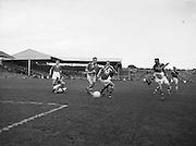 Neg No: .871/a1908-a1919...14081955AISFCSF...14.08.1955..All Ireland Senior Football Championship - Semi-Final..Kerry.2-10 Cavan.1-13....