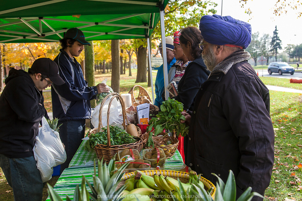 A Good Food Market at Driftwood Community Centre in Toronto