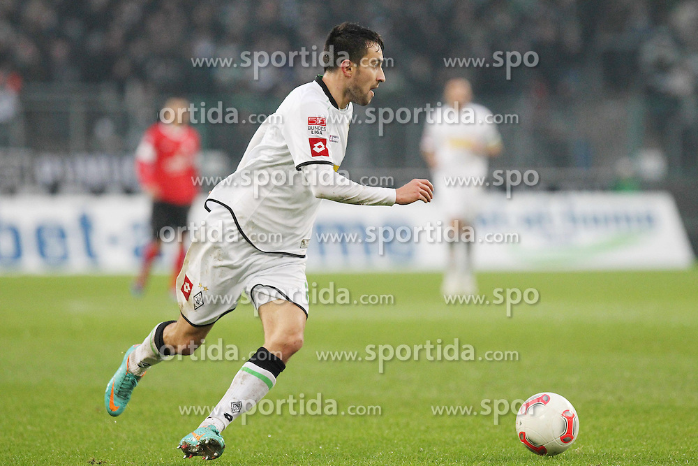09.12.2012, Borussia Park, Moenchengladbach, GER, 1. FBL, Borussia Moenchengladbach vs 1. FSV Mainz 05, 16. Runde, im Bild Freisteller Lukas RUPP (Borussia Moenchengladbach) // during the German Bundesliga 16th round match between Borussia Moenchengladbach and 1. FSV Mainz 05 at the Borussia Park, Moenchengladbach, Germany on 2012/12/09. EXPA Pictures © 2012, PhotoCredit: EXPA/ Eibner/ Schueler..***** ATTENTION - OUT OF GER *****