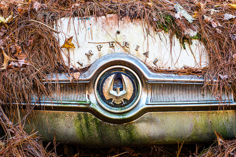"Vintage Car Graveyard at ""Old Car City USA"" in White Georgia."
