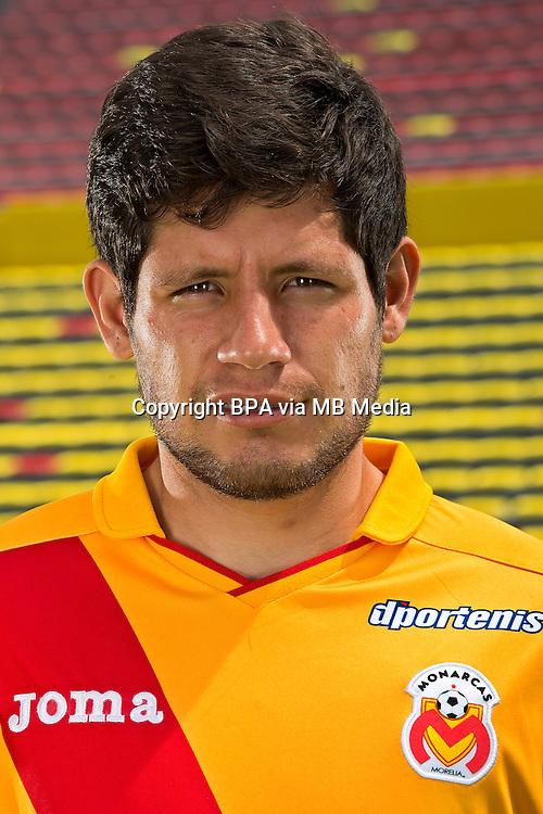 Mexico League - BBVA Bancomer MX 2014-2015 -<br /> La Monarquia - Club Atletico Monarcas Morelia / Mexico - <br /> Luis Angel Morales Rojas