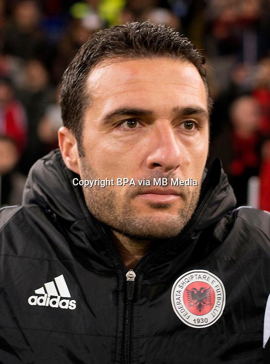 Uefa Euro FRANCE 2016 - <br /> Albania National Team - <br /> Orges Shehi